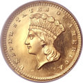 Proof Gold Dollars, 1860 G$1 PR65 Ultra Cameo NGC....