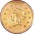 Territorial Gold, 1855 $50 Wass Molitor Fifty Dollar VF30 PCGS. K-9, R.5....