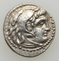 Ancients:Greek, Ancients: MACEDONIAN KINGDOM. Alexander III the Great (336-323 BC).AR drachm (4.16 gm). ...