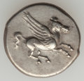 Ancients:Greek, Ancients: ACARNANIA. Leucas. Ca. 350-320 BC. AR stater (8.55 gm)....