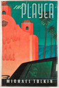 Books:First Editions, Michael Tolkin. The Player. New York: Atlantic Monthly,[1988]. First edition, first printing. Octavo. Publisher's b...