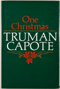 Books:First Editions, Truman Capote. One Christmas. London: Hamish Hamilton,[1983]. First British edition. Octavo. Publisher's binding an...