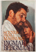 Books:First Editions, Ingmar Bergman. Scenes From a Marriage. New York: PantheonBooks, [1974]. First American edition. Octavo. Publisher'...
