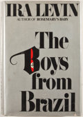 Books:First Editions, Ira Levin. The Boys From Brazil. New York: Random House,[1976]. First edition, first printing. Octavo. Publisher's bind...