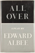 Books:First Editions, Edward Albee. All Over. New York: Atheneum, 1971. Firstedition. Octavo. Publisher's binding and dust jacket. Light ...