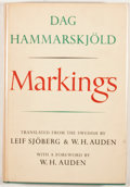Books:First Editions, Dag Hammarskjold. Markings. New York: Knopf, 1964. FirstAmerican edition, first printing. Octavo. Publisher's b...