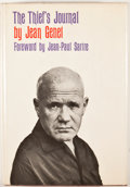 Books:First Editions, Jean Genet. Thief's Journal. New York: Grove Press, [1964].First American edition, first printing. Octavo. Publishe...