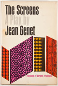 Books:First Editions, Jean Genet. The Screens. New York: Grove Press, [1962].First American edition, first printing. Octavo. Publisher's ...