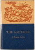 Books:First Editions, J. Frank Dobie. The Mustangs. Boston: Little, Brown, [1952].First edition. Octavo. Publisher's binding. Very go...