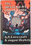 Books:First Editions, H. P. Lovecraft and August Derleth. The Watchers Out ofTime. Sauk City: Arkham House, 1974. First edition. Octavo. ...