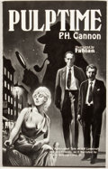 Books:First Editions, P. H. Cannon. Pulptime. [Buffalo: Weirdbook Press, 1984].First edition. Octavo. Publisher's wrappers. Softly bumped...