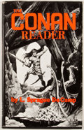 Books:First Editions, L. Sprague de Camp. The Conan Reader. Baltimore: Mirage,1968. First edition. Octavo. Publisher's binding and du...