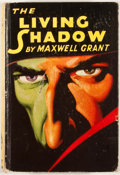 Books:First Editions, Maxwell Grant. The Living Shadow. New York: Street &Smith, [1931]. First edition. Octavo. Publisher's binding. Mino...