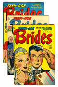 Golden Age (1938-1955):Miscellaneous, Harvey Romance Comics File Copies Group (Harvey, 1949-58) Condition: Average VF.... (Total: 28 Comic Books)