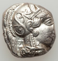 Ancients:Greek, Ancients: ATTICA, Athens. Ca. 454-404 BC. AR tetradrachm (17.16gm)....