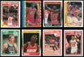 Basketball Cards:Lots, 1986 - 1989 Fleer Basketball Collection (8) With Four MichaelJordan Cards! ...