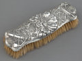Silver Holloware, American:Vanity, AN UNGER BROTHERS SILVER INDIAN HEAD CLOTHES BRUSH . Unger Bros.,Newark, New Jersey, circa 1905. Marks: (UB intertwined), ...