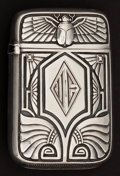 Silver Smalls:Match Safes, A WATROUS SILVER AND SILVER GILT MATCH SAFE . Watrous ManufacturingCompany, Wallingford, Connecticut, circa 1910. Marks: (c...