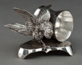 Silver Holloware, American:Napkin Rings, A MANHATTAN SILVER-PLATED FIGURAL NAPKIN RING . Manhattan SilverPlate Co., Lyons, New York, circa 1880. Marks: MANHATTAN ...