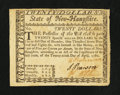 Colonial Notes:New Hampshire, New Hampshire April 29, 1780 $20 Very Fine.. ...