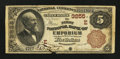 National Bank Notes:Pennsylvania, Emporium, PA - $5 1882 Brown Back Fr. 467 The First NB Ch. # (E)3255. ...