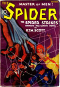 Pulps:Miscellaneous, The Spider #1 (Popular, 1933) Condition: FN-....