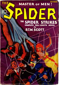 The Spider #1 (Popular, 1933) Condition: FN-