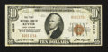 National Bank Notes:West Virginia, Keyser, WV - $10 1929 Ty. 1 The First NB Ch. # 6205. ...