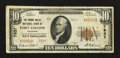 National Bank Notes:Colorado, Fort Collins, CO - $10 1929 Ty. 2 The Poudre Valley NB Ch. # 7837....