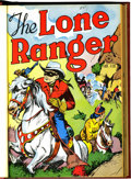 Golden Age (1938-1955):Western, Lone Ranger #1-143 Bound Volumes (Dell, 1948-62).... (Total: 23 )