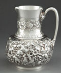 Silver Holloware, American:Pitchers, A BIGELOW KENNARD SILVER WATER PITCHER . Bigelow, Kennard &Company, Inc., Boston, Massachusetts, circa 1880. Marks:BIGEL...