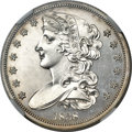 Patterns, 1838 P50C Half Dollar, Judd-73 Original, Pollock-77, R.5, PR62+NGC....