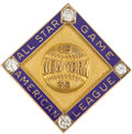Baseball Collectibles:Pins, 1939 Lou Gehrig All-Star Game Presentational Pin....