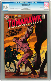 Tomahawk #123 Savannah pedigree (DC, 1969) CGC NM+ 9.6 Off-white to white pages