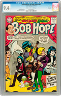 Silver Age (1956-1969):Humor, The Adventures of Bob Hope #96 Savannah pedigree (DC, 1966) CGC NM 9.4 Off-white to white pages....