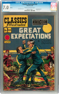 Golden Age (1938-1955):Classics Illustrated, Classics Illustrated #43 Great Expectations HRN 62 (Gilberton, 1949) CGC FN/VF 7.0 Cream to off-white pages....