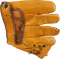 Autographs:Others, 1943 Babe Ruth Signed Fielder's Glove with Extraordinary Provenance....