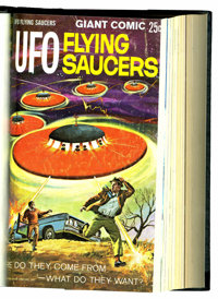 UFO Flying Saucers/UFO and Outer Space #1-25 Bound Volume (Gold Key, 1968-80)