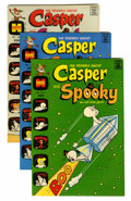 Bronze Age (1970-1979):Cartoon Character, Casper-Related File Copies Group (Harvey, 1970s) Condition: AverageNM-.... (Total: 65 Comic Books)