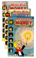 Bronze Age (1970-1979):Cartoon Character, Richie Rich Money World File Copy Group (Harvey, 1972-82)Condition: Average NM-.... (Total: 114 Comic Books)