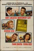 "Movie Posters:Academy Award Winners, From Here to Eternity (Columbia, 1953). Spanish One Sheet (27"" X41""). Academy Award Winners.. ..."