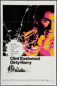 """Dirty Harry (Warner Brothers, 1971). One Sheet (27"""" X 41""""). Crime"""