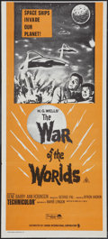 "Movie Posters:Science Fiction, The War of the Worlds (Cinema International, R-1970s). AustralianDaybill (13.25"" X 29.75""). Science Fiction.. ..."