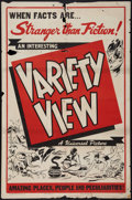 "Movie Posters:Short Subject, Variety View (Universal, 1944). One Sheet (27"" X 41""). ShortSubject.. ..."