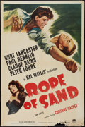 """Movie Posters:Adventure, Rope of Sand (Paramount, 1949). One Sheet (27"""" X 41""""). Adventure....."""