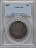 Bust Half Dollars: , 1823 50C Good 6 PCGS. PCGS Population (4/745). NGC Census: (1/662).Mintage: 1,694,200. Numismedia Wsl. Price for problem f...