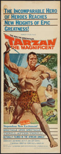 "Movie Posters:Adventure, Tarzan the Magnificent and Other Lot (Paramount, 1960). Inserts (2)(14"" X 36""). Adventure.. ... (Total: 2 Items)"