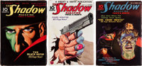 Shadow Pulp Group (Street & Smith, 1933-36) Condition: Average FN.... (Total: 3 )