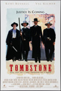 "Movie Posters:Western, Tombstone (Buena Vista, 1993). One Sheet (27"" X 40"") DS Advance. Western.. ..."