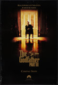 """Movie Posters:Crime, The Godfather Part III (Paramount, 1990). One Sheet (27"""" X 40"""") Advance. Crime.. ..."""
